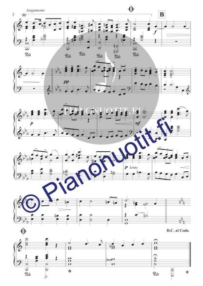Toivo Kuula: Häämarssi. Helppo nuotti pianolle (C-duuri), sivu 2
