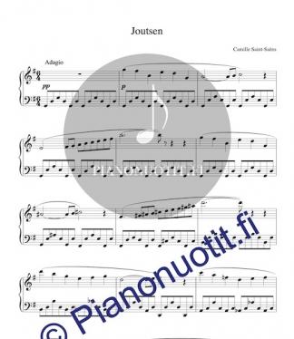 Camille Saint-Saëns: Joutsen. Sovitus / piano.